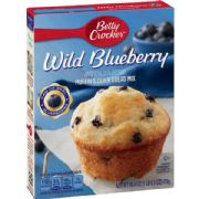 Wild Blueberry Muffin Mix, Betty Crocker (American)